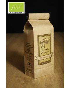Décaféiné Pérou arabica bio BE-BIO-01 , méthode CO2